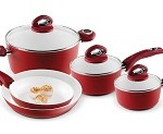 Bialetti Aeternum Red 7252 8 Piece Cookware Set Reviews