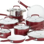 WearEver C943SF Pure living Nonstick Ceramic Dishwasher Safe Cookware Set, 15-Piece Reviews