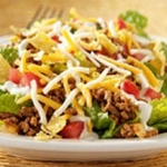 Recipes for Taco Salad and Honey Glazed Salmon