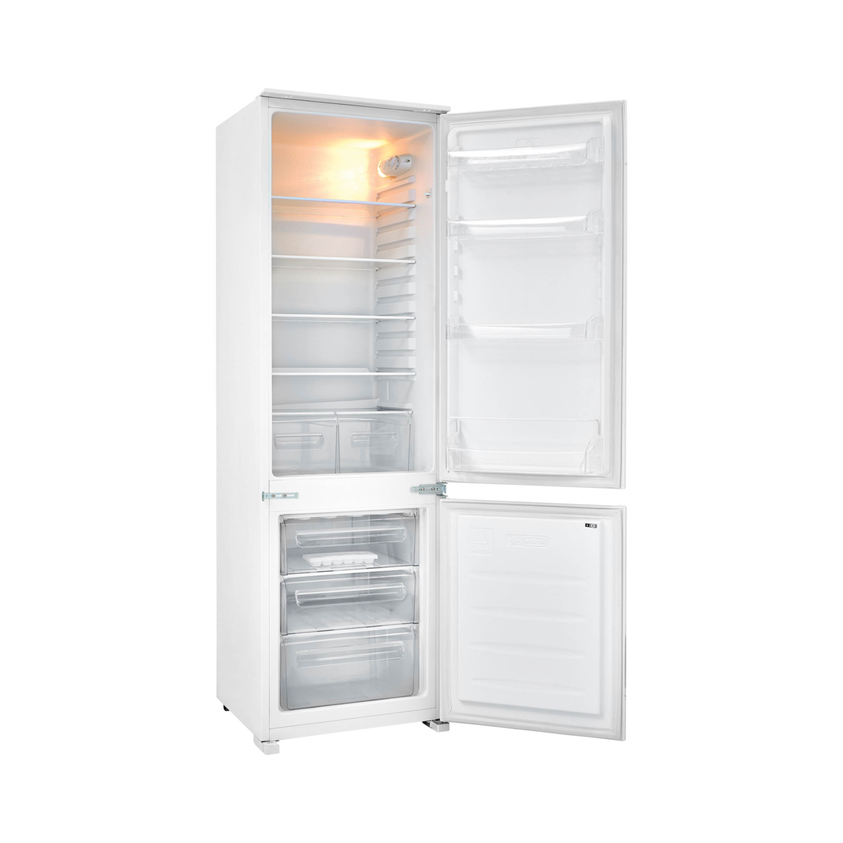 Best integrated fridge freezer
